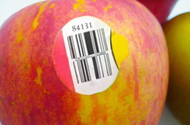 Я был удивлен, когда понял смысл наклейки на фруктах. Всегда думал, что это несущественные детали