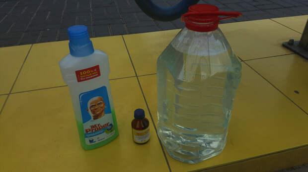 Эффективная летняя омывающая жидкость своими руками за 10 рублей/5 литров (рецепт)