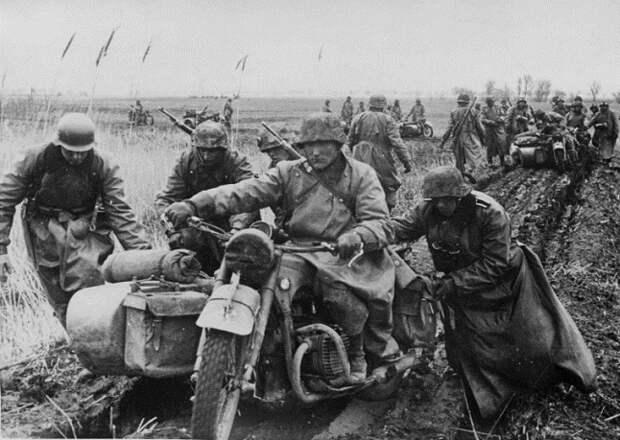 Почему вермахт отказался от мотоциклов после поражения под Сталинградом