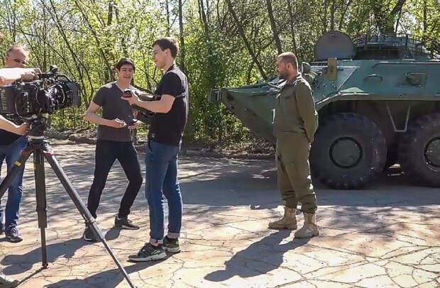 В ДНР впервые идут съемки российского художественного фильма