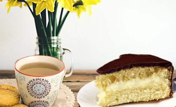 По вашим просьбам. Торт Чародейка – он же Бостонский кремовый торт