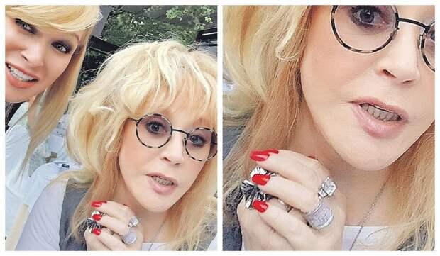 Пугачева продемонстрировала новое роскошное бриллиантовое кольцо