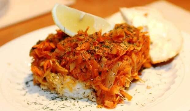 Рыба в томатном соусе с овощами – рецепт для ленивых гурманов