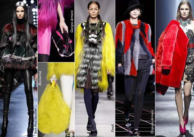Тенденции моды осень зима 2012