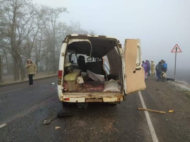 Шесть человек скончались в ДТП в Краснодарском крае