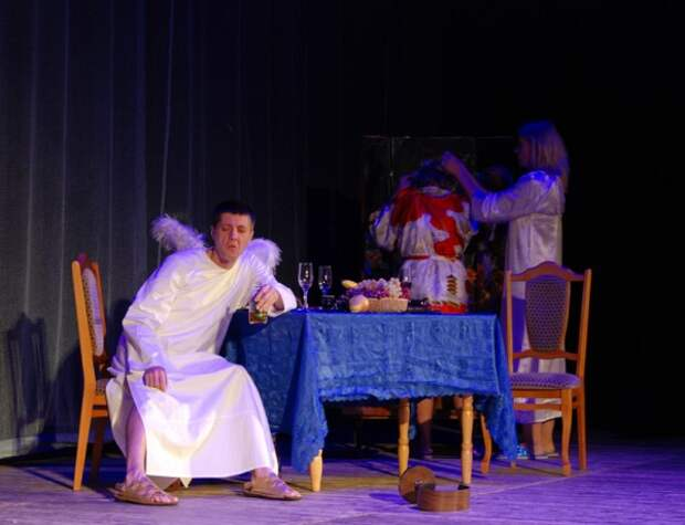 Как в Севастополе Маслов завершил театральный сезон
