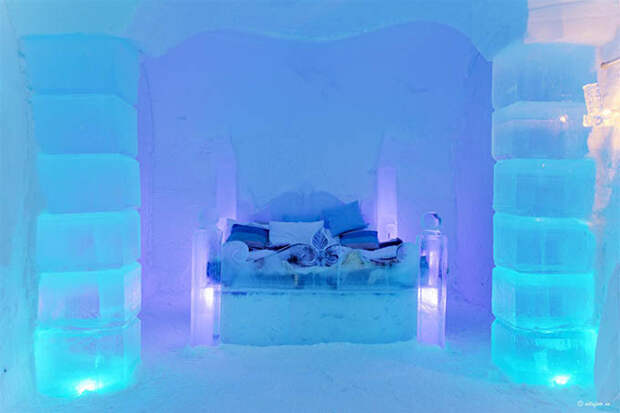 Sorrisniva Ice Hotel Valhalla Suite photo by Vidar Hoel