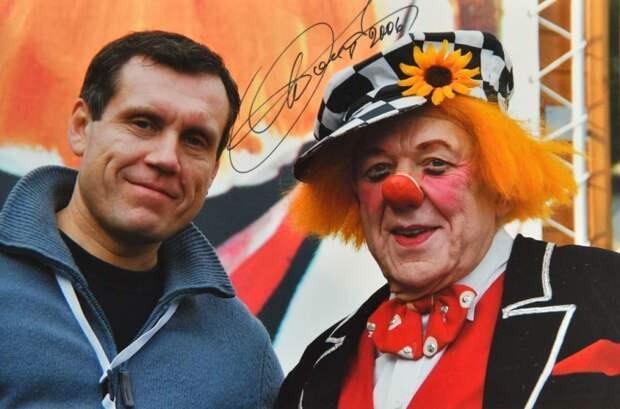 Настоящее знакомство состоялось в 2006 году на 30-м Международном фестивале циркового искусства в Монте-Карло/Из личного архива Юрия Халявина