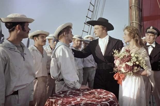 Кадр из фильма *Алые паруса*, 1961 | Фото: ria.ru