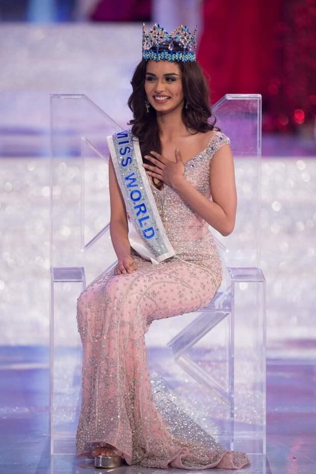 """Победительницей конкурса """"Мисс мира 2017"""" стала 20-летняя студентка из Индии"""