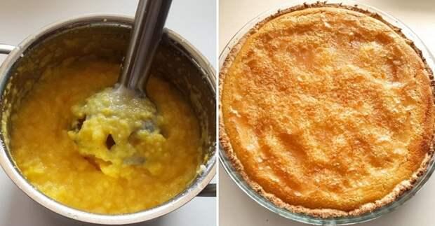 апельсиновый чизкейк рецепт