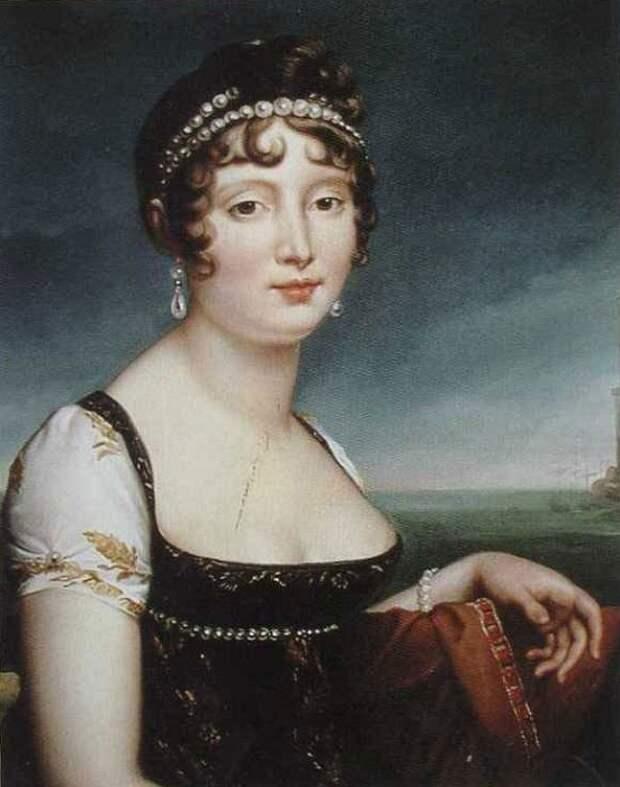 Сестра Наполеона, радевшего за женскую нравственность, приводила в отчаяние своими любовными похождениями.
