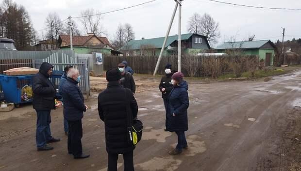 Нарушения выявили при строительстве домов в поселке Дубровицы
