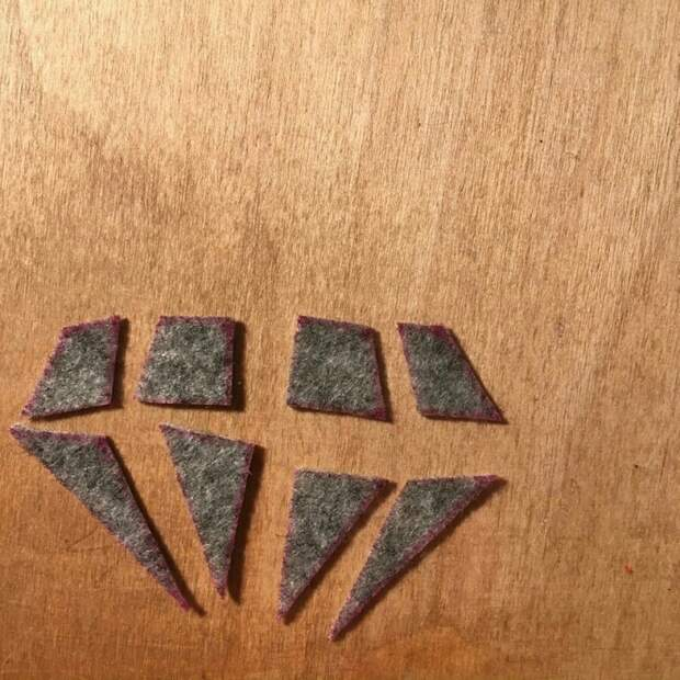 Зимний бриллиант: брошь своими руками (diy)