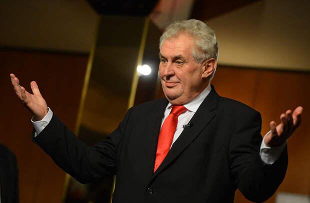 Чешский президент заявил о вранье со стороны чешских спецслужб в деле о взрыве во Врбетицах