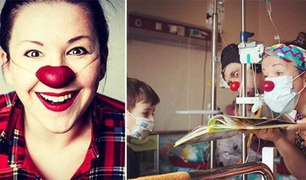 Актриса состоит в организации *Больничные клоуны* | Фото: uznayvse.ru