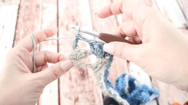Крутая вещица на весну: элементарное вязание + примитивная сборка