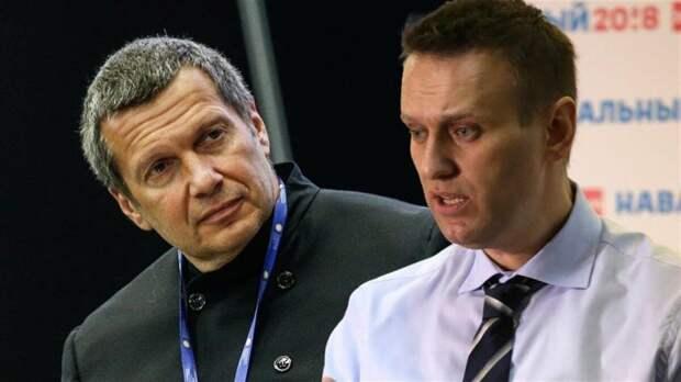 Александр Росляков. Еврейский маневр Соловьева, который может стоить Навальному жизни