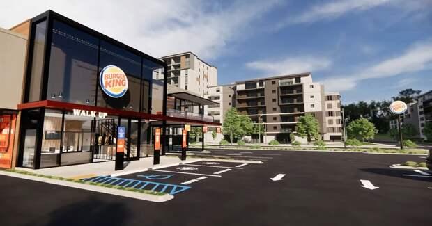Минимум контактов, максимум мобильности: Burger King представил рестораны будущего