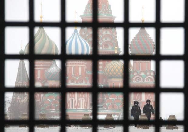 Москва во второй день самоизоляции.