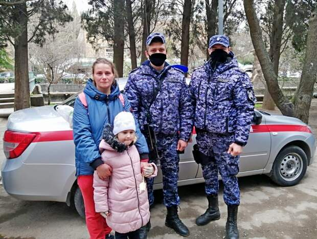 В Ялте нашли и вернули родителям потерявшегося ребёнка
