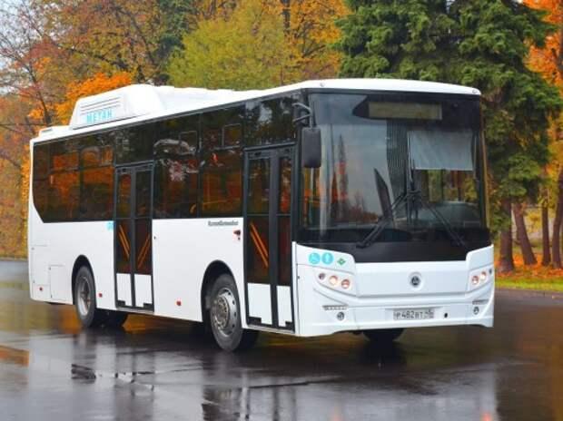 Группа ГАЗ представила автобус КАВЗ на метане