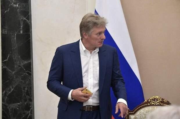 Песков прокомментировал возможность переговоров Путина и Зеленского
