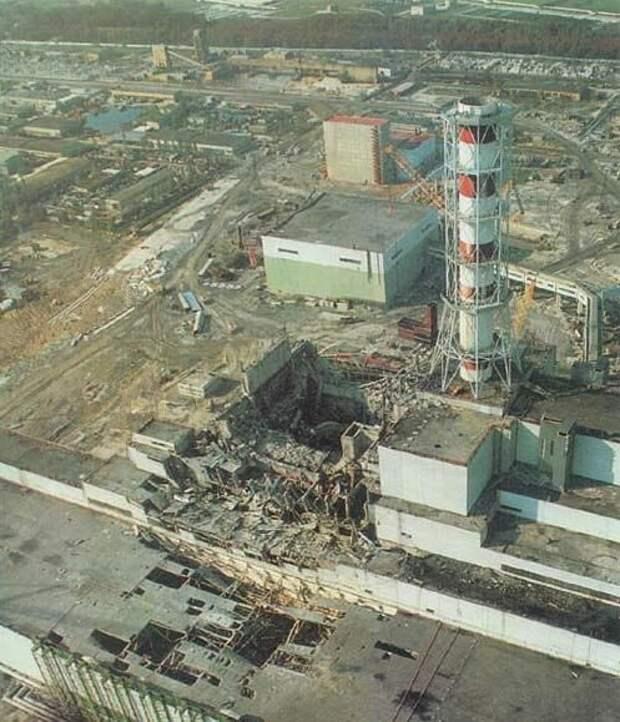 Четвёртый блок ЧАЭС, на котором 26 апреля 1986 года случилась авария