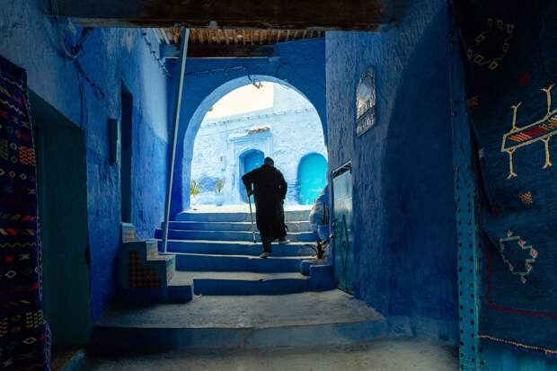 Шефшауэн, город небесных красок: Голубая жемчужина Марокко