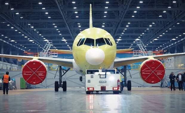 Запад срывает серийное производство российского лайнера МС-21