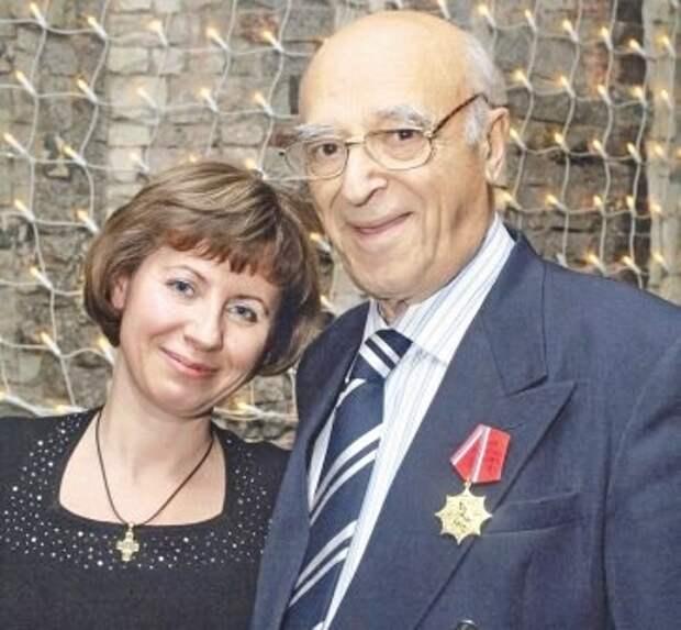Владимир Этуш и Елена Горбунова. Фото с сайта peoples.ru