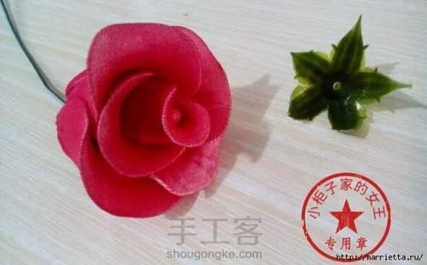 Розы из капрона. Красивые идеи и мастер-класс (80) (591x367, 103Kb)