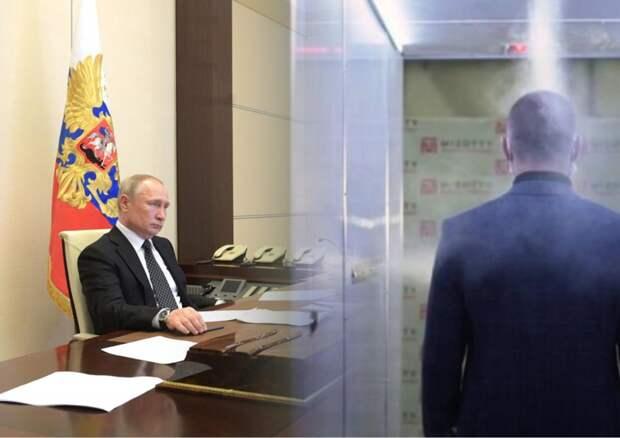 Песков поведал о дезинфекционных туннелях в Кремле