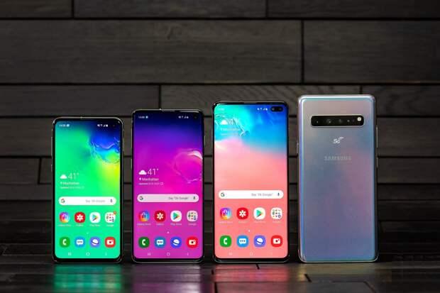 Samsung представила свой первый 5G-смартфон