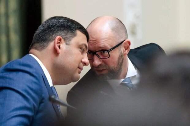 Сменили руководителей: кто возвращает в правительство Украины Яценюка и Гройсмана?
