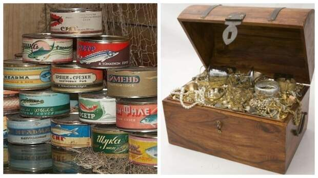 Сокровища в банке из-под консервов, или Как мощно работала реклама в СССР