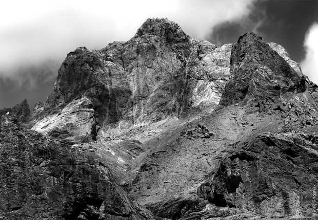 bnwmountains11 Черно белые фотографии гор