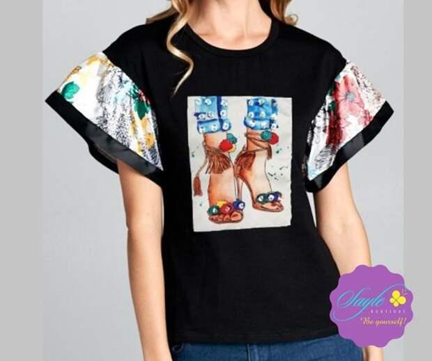 Креативные футболки и их переделки