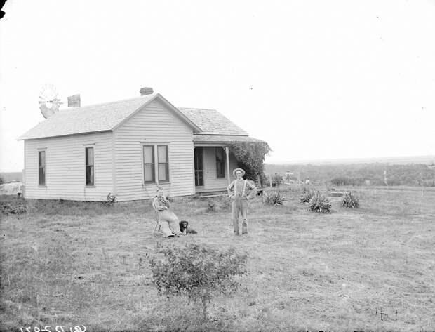 Как поднималась американская целина. Архивные фотографии пионеров Великих равнин конца 19-го века 23