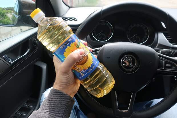 подсолнечное масла против алкотестера