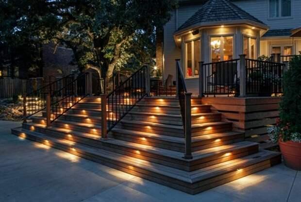 Освещение дома и участка