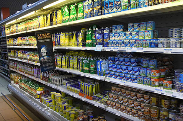 Российские магазины решили ориентироваться набедных