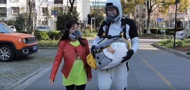 Death Stranding вдохновила китайца на создание капсулы для защиты ребёнка от коронавируса