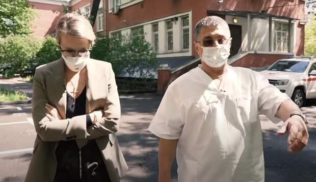 «Настоящая эпидемия только впереди»: интервью доктора Мясникова сКсенией Собчак