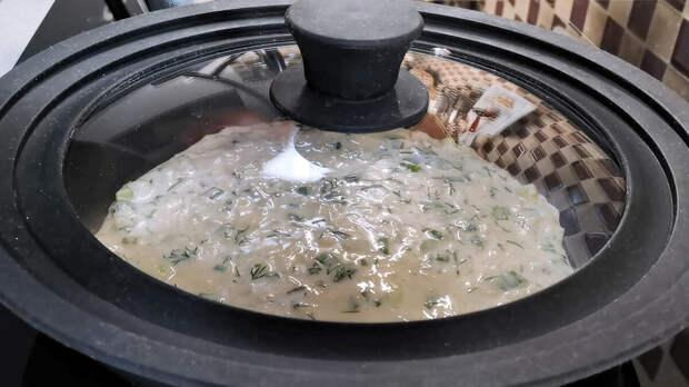 Жарю «ленивые» лепёшки на сковороде просто и быстро как блины. Рецепт на завтрак, перекус и можно вместо хлеба