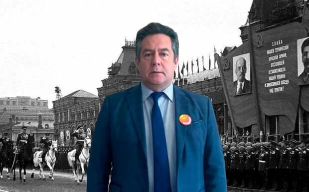 Лидер движения ЗНС Николай Платошкин призвал провести Парад Победы 24 июня, как это было в 1945 году