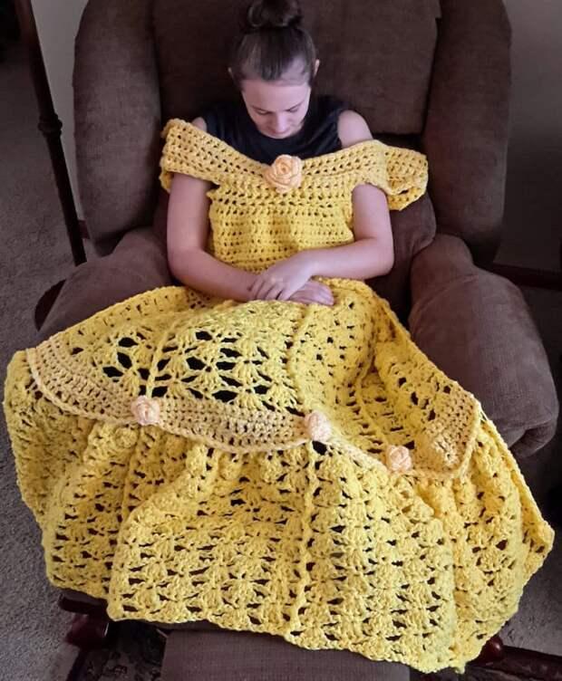 Необычные одеяла, которые помогут вам почувствовать себя настоящей принцессой