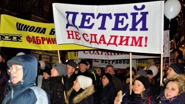 Антирасистские протесты в Латвии, или Пчелы против меда