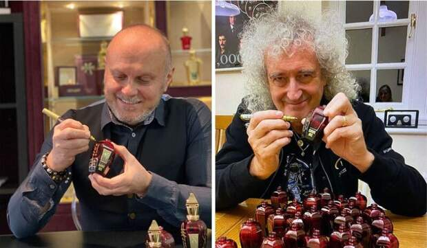 Гитарист Queen порадовал ценителей эксклюзива парфюмом сзапахом барсука