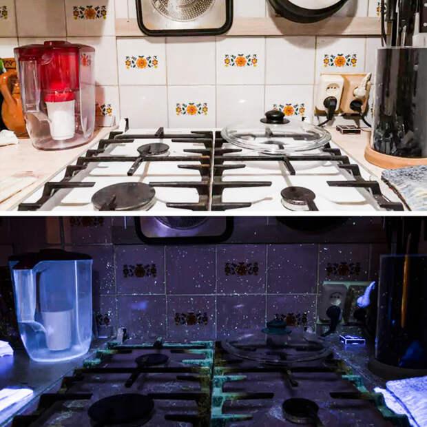 Вещи, которые теряют свой обычный вид под ультрафиолетовым светом